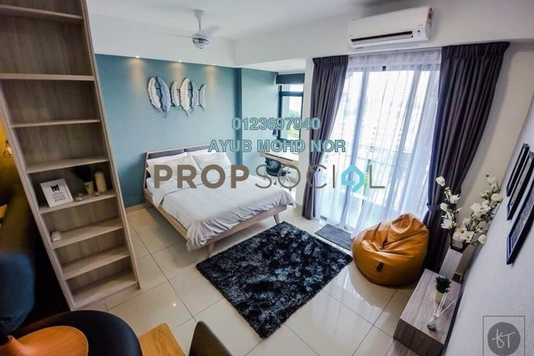 For Rent SoHo/Studio at Paramount Utropolis, Glenmarie Freehold Fully Furnished 1R/1B 1.6k