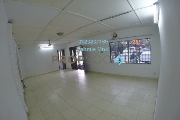 For Rent Semi-Detached at Taman Setapak Jaya, Setapak Freehold Semi Furnished 4R/3B 1.3k