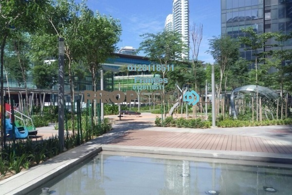 For Sale Serviced Residence at The Sentral Residences, KL Sentral Freehold Semi Furnished 2R/1B 1.6m