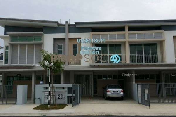 For Sale Terrace at Chimes, Bandar Rimbayu Freehold Semi Furnished 4R/4B 760k