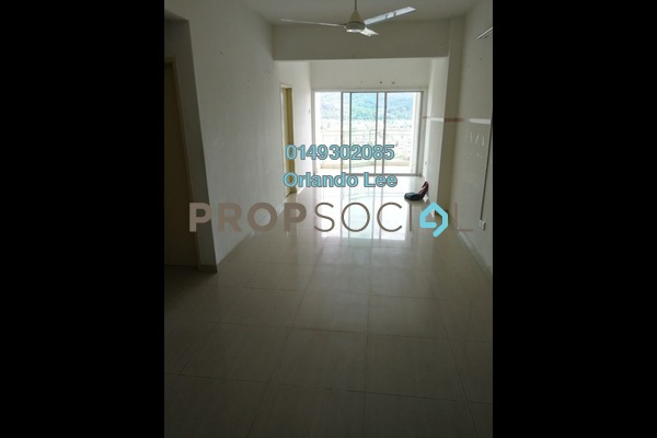 For Rent Apartment at Kepong Central Condominium, Kepong Freehold Unfurnished 3R/2B 1.1k