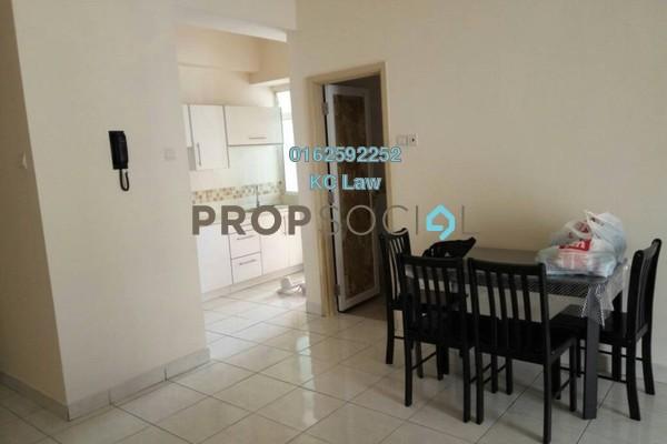 For Rent Condominium at Casa Suites, Petaling Jaya Freehold Semi Furnished 2R/2B 1.8k