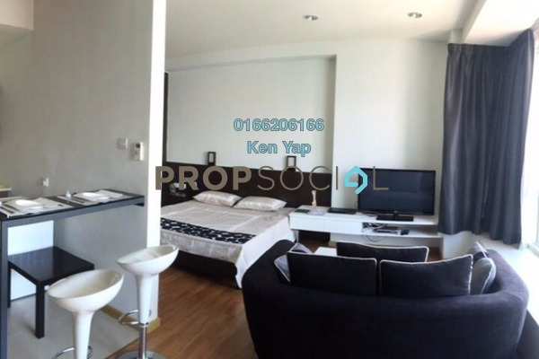For Rent Condominium at Park View, KLCC Freehold Fully Furnished 1R/1B 2.2k