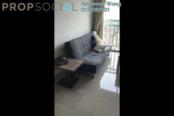 For Rent Condominium at Hijauan Puteri, Bandar Puteri Puchong Freehold Fully Furnished 3R/2B 1.5k