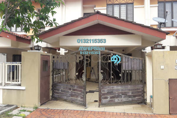 For Sale Terrace at Laman Glenmarie, Saujana Freehold Semi Furnished 4R/4B 820k