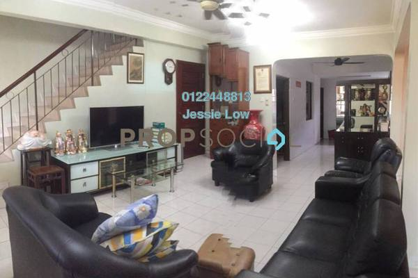 For Sale Terrace at Taman Puncak Jalil, Bandar Putra Permai Freehold Semi Furnished 4R/3B 580k