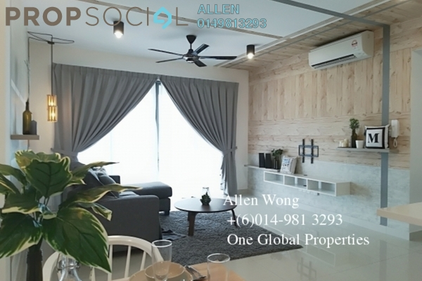 For Rent Serviced Residence at Imperia, Puteri Harbour Freehold Fully Furnished 3R/3B 3k