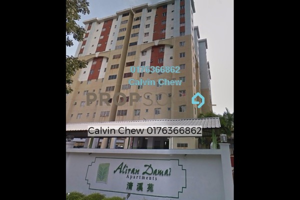 For Sale Apartment at Aliran Damai, Cheras South Freehold Unfurnished 3R/0B 286k