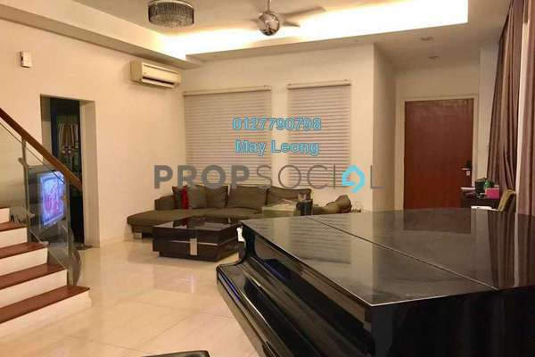 For Sale Semi-Detached at The Rafflesia, Damansara Perdana Freehold Semi Furnished 5R/5B 2.65m