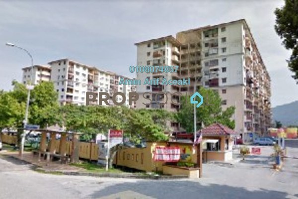 For Sale Apartment at Taman Tun Teja, Rawang Freehold Unfurnished 3R/3B 175k