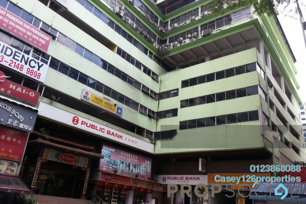 For Sale Apartment at Sun Complex, Bukit Bintang Freehold Unfurnished 3R/2B 550k