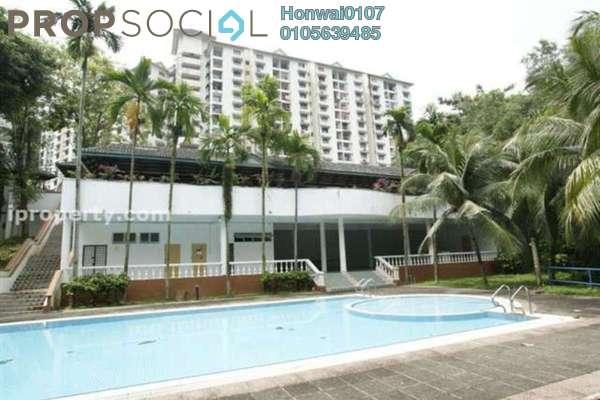 For Rent Condominium at Desa View Towers, Melawati Freehold Semi Furnished 3R/2B 1.1k