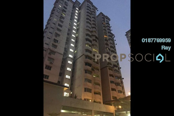 For Rent Condominium at BAM Villa, Cheras Freehold Semi Furnished 3R/2B 1.7k