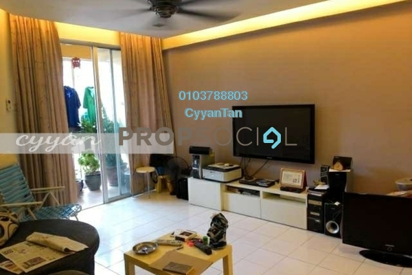 For Rent Apartment at Andari Townvilla, Selayang Heights Freehold Fully Furnished 3R/2B 1.25k