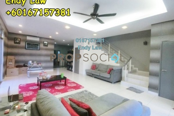 For Sale Terrace at Goodfields Residence, Bukit Minyak Freehold Semi Furnished 5R/4B 850k