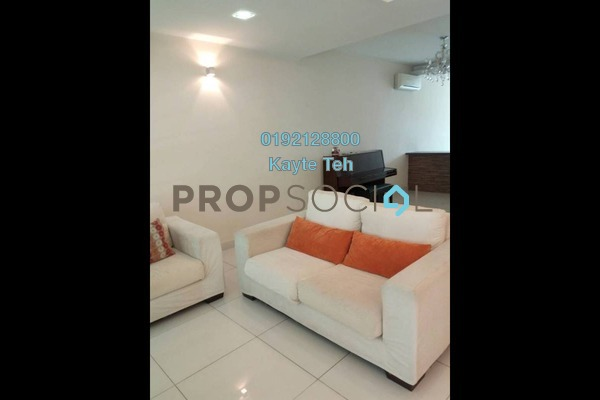 For Rent Terrace at Impian Villa, Mont Kiara Freehold Semi Furnished 5R/5B 4.5k