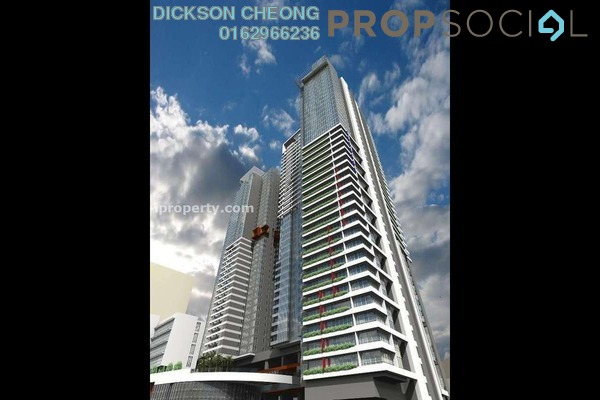 For Sale Condominium at Verticas Residensi, Bukit Ceylon Freehold Fully Furnished 2R/2B 1.7m