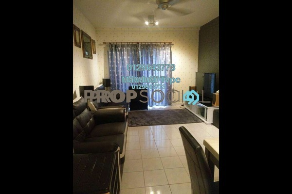 For Sale Apartment at Crystal Tower, Ampang Freehold Semi Furnished 3R/2B 390k