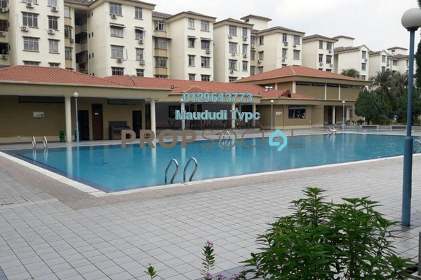 For Sale Apartment at Goodyear Court 7, UEP Subang Jaya Freehold Semi Furnished 3R/2B 425k