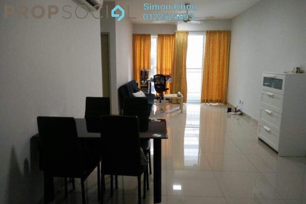 For Rent Condominium at Pacific Place, Ara Damansara Freehold Semi Furnished 2R/2B 1.6k