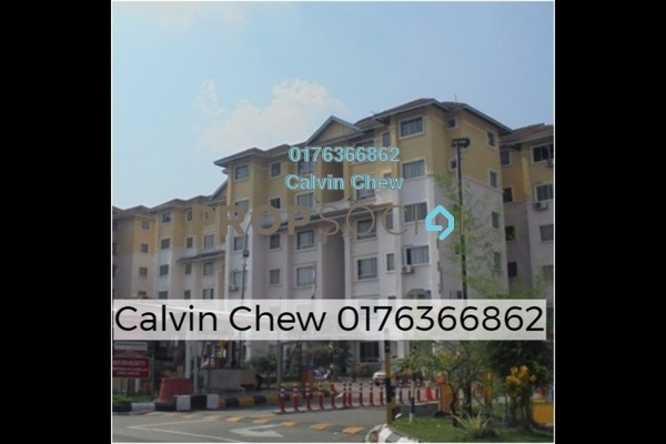 For Sale Apartment at Astana Alam Apartment, Kuala Selangor Freehold Unfurnished 3R/2B 113k