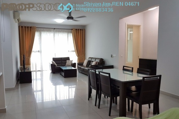 For Rent Condominium at Kiaramas Ayuria, Mont Kiara Freehold Fully Furnished 4R/3B 4.8k
