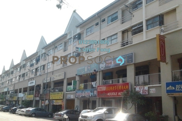 For Rent Apartment at Fortune Court, Kepong Freehold Semi Furnished 3R/2B 1.1k