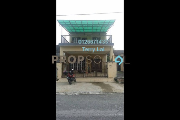 For Sale Terrace at Taman Tun Perak, Rawang Freehold Semi Furnished 4R/3B 520k