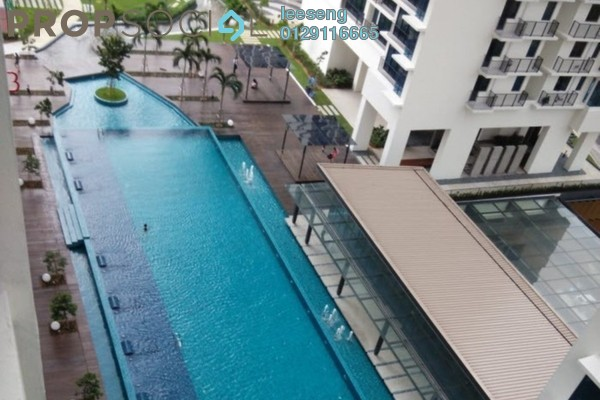 For Rent SoHo/Studio at Trefoil, Setia Alam Freehold Semi Furnished 1R/1B 1.2k