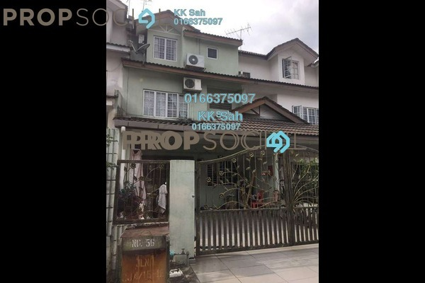 For Sale Link at Taman Cheras Jaya, Balakong Freehold Semi Furnished 4R/3B 550k