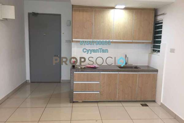 For Rent Condominium at Bayu Sentul, Sentul Freehold Semi Furnished 3R/2B 1.7k