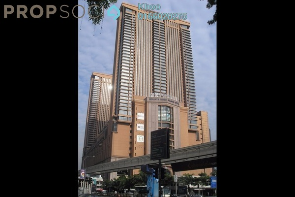 For Sale Condominium at Berjaya Times Square, Bukit Bintang Freehold Fully Furnished 1R/1B 599k