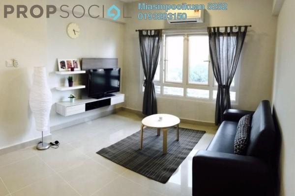 For Rent Condominium at Casa Desa, Taman Desa Freehold Fully Furnished 3R/2B 2.3k