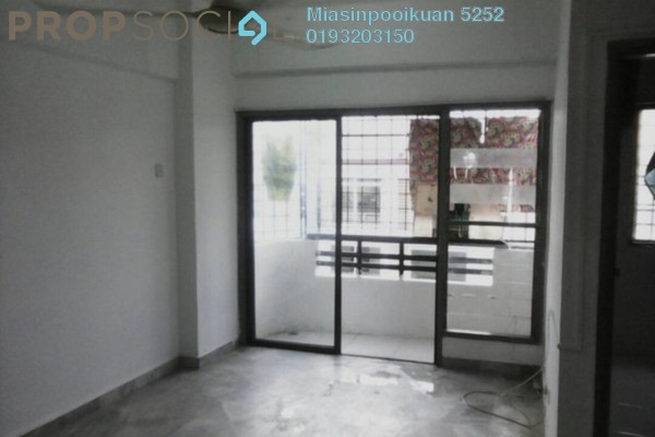For Rent Condominium at Villa Angsana, Jalan Ipoh Freehold Semi Furnished 3R/2B 1.1k