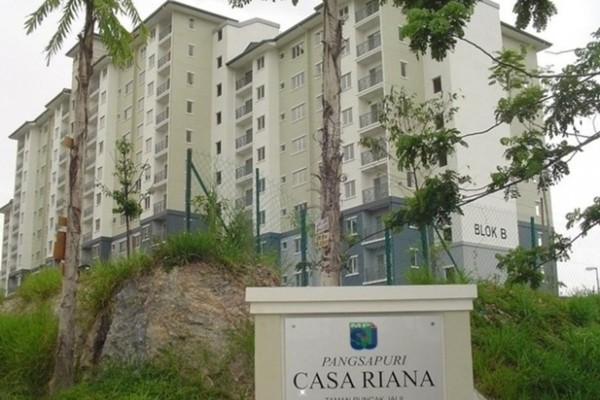 For Rent Apartment at Casa Riana, Bandar Putra Permai Freehold Unfurnished 3R/2B 1k