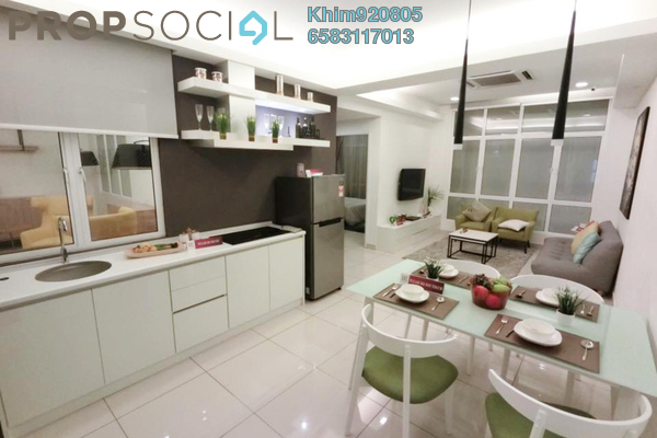 For Sale Condominium at Arc @ Austin Hills, Tebrau Freehold Fully Furnished 2R/2B 300k