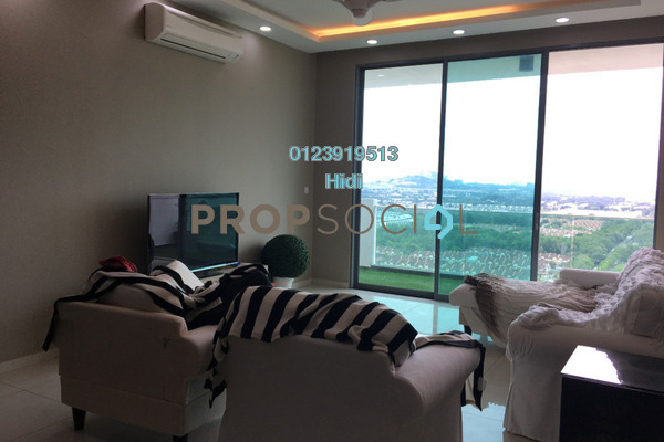 For Rent Condominium at X2 Residency, Puchong Freehold Fully Furnished 4R/5B 2.6k