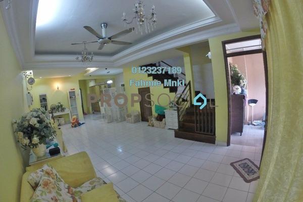 For Rent Terrace at Subang Bestari, Subang Freehold Semi Furnished 4R/3B 2.5k