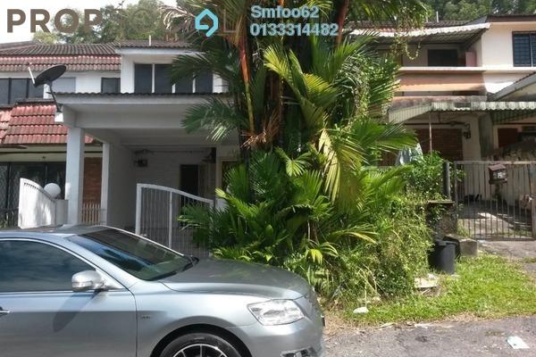 For Rent Terrace at Taman Batu Muda, Batu Caves Freehold Semi Furnished 3R/2B 1.55k