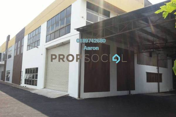 For Sale Factory at Section 36, Shah Alam Freehold Semi Furnished 0R/0B 5.9m