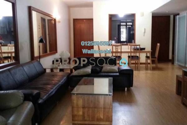 For Rent Condominium at Bellisa Court, Pulau Tikus Freehold Fully Furnished 3R/2B 3k