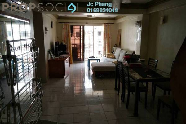 For Sale Apartment at Vista Saujana, Kepong Freehold Semi Furnished 3R/2B 300k