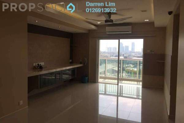 For Rent Condominium at First Residence, Kepong Freehold Semi Furnished 3R/2B 2k