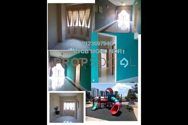 For Rent Apartment at Pandan Utama, Pandan Indah Freehold Semi Furnished 3R/2B 1.5k