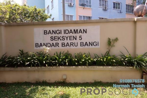 For Sale Apartment at Seksyen 5, Bangi Leasehold Unfurnished 3R/2B 260k
