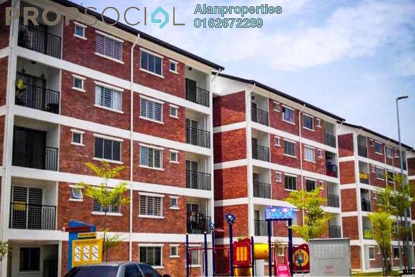 For Rent Apartment at Puri Pesona Apartment, Bandar Sungai Long Freehold Unfurnished 3R/2B 750translationmissing:en.pricing.unit