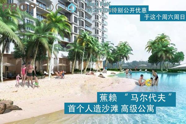 For Sale Condominium at Akasa, Balakong Freehold Semi Furnished 3R/2B 450k