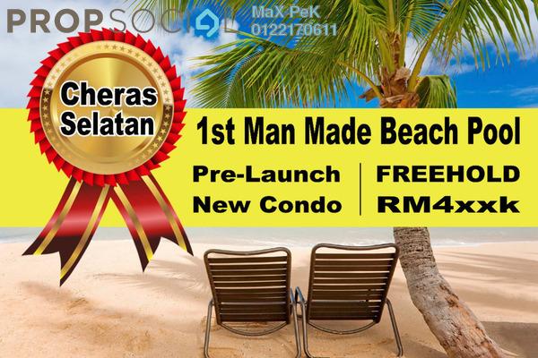 For Sale Condominium at Akasa, Balakong Freehold Semi Furnished 3R/2B 468k