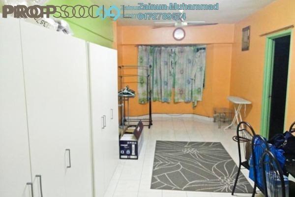 For Rent Apartment at Lestari Apartment, Bandar Sri Permaisuri Freehold Semi Furnished 3R/2B 1k
