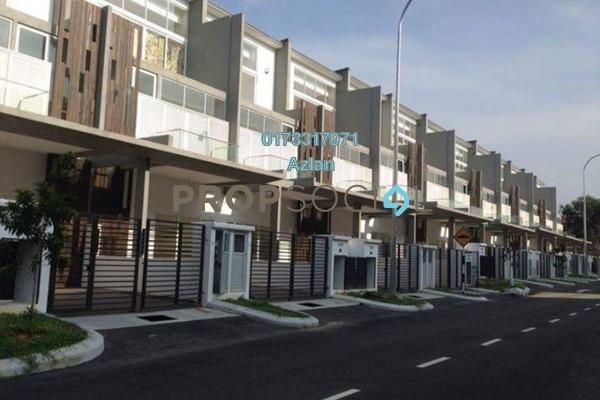 For Rent Townhouse at Quartz Villa, Bandar Mahkota Cheras Freehold Semi Furnished 5R/4B 2.5k